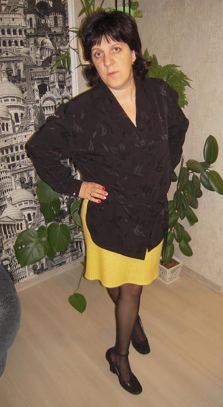 Блузка Черная, но любимая