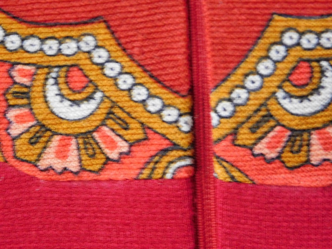 Платье излоскута платка
