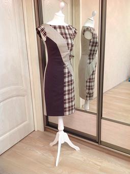 Работа с названием Платье 103 8/2014