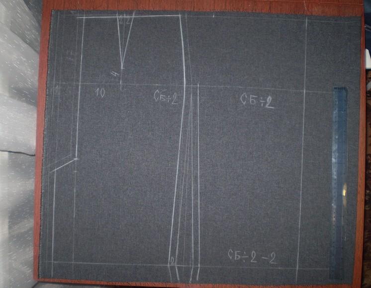 Конструирование прямой юбки «class=