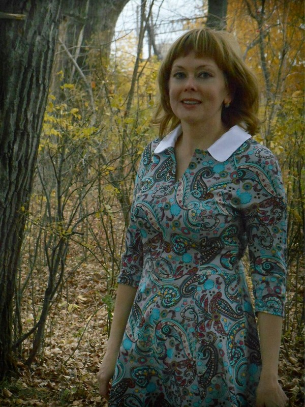 Платье пейсли от УЛЕНА