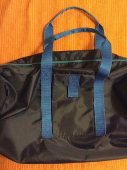 Работа с названием Спортивная сумка для мужа