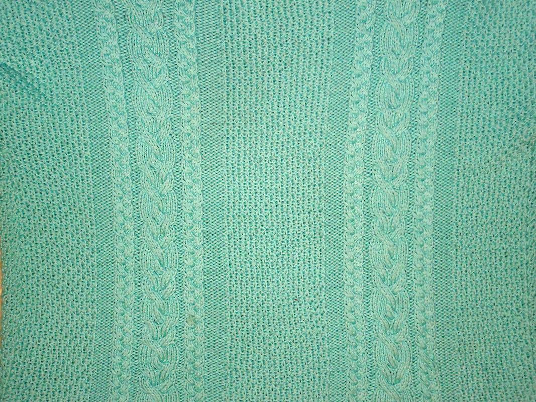 Мой большой мятный свитер