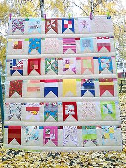 Работа с названием Лоскутное одеялко для дочи