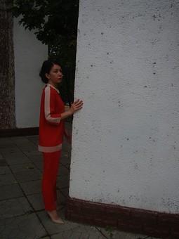 Работа с названием В красном   И не в платье