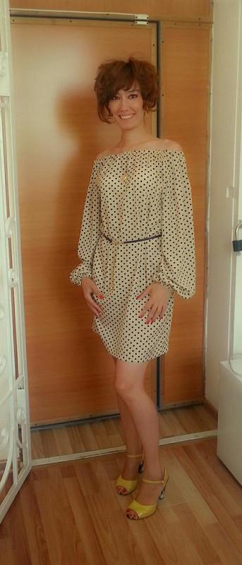 Платье вгорошек от Znayka