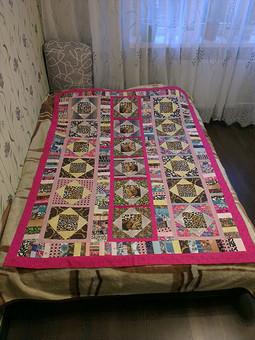 Работа с названием Летнее одеяло