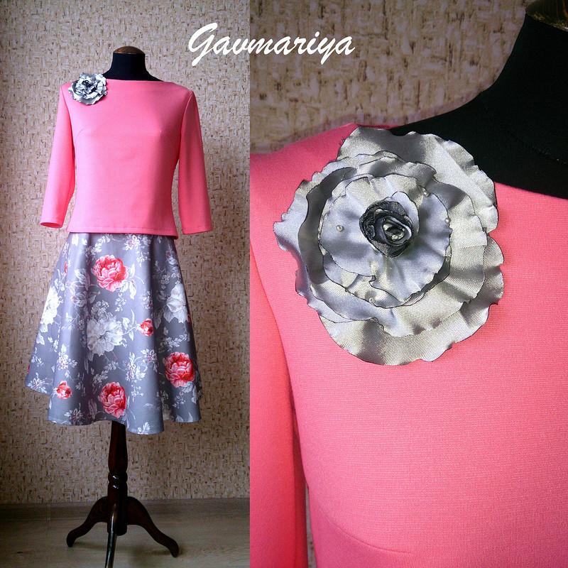 Серо-розовая нежность от gavmariya