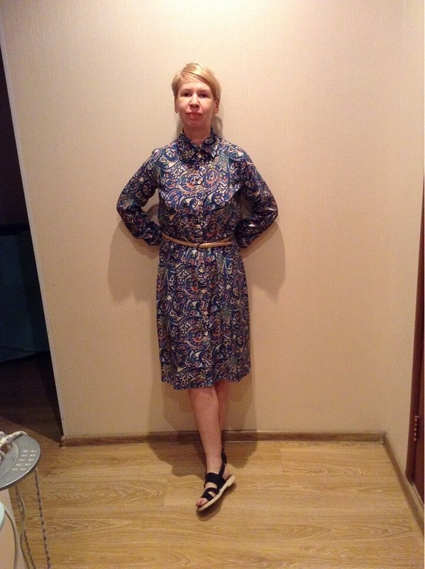 Платье-рубашка от Zhuzhuk