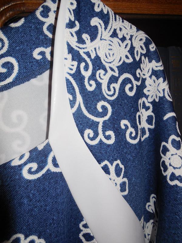 Декабрьский вариант платья октября