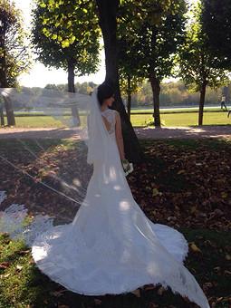 Работа с названием Свадебный наряд для дочери