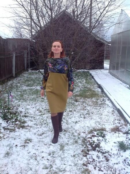 На пенсию вновом платье! от NasGys
