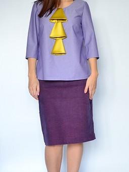 Работа с названием Блуза с колокольчиками