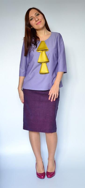 Блуза сколокольчиками от Talents Sister