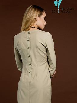 Работа с названием Обычное платье с необычной застежкой