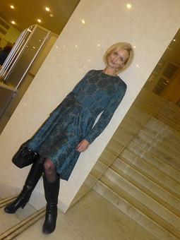 Работа с названием Платье за ночь:)