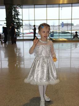 Работа с названием Платье для Снегурочки