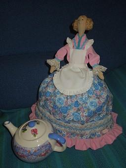 Работа с названием Тильдочка на чайник