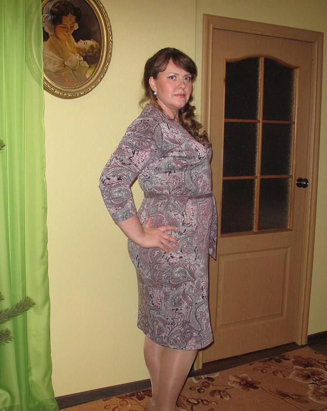 Теплое платье накаждый день