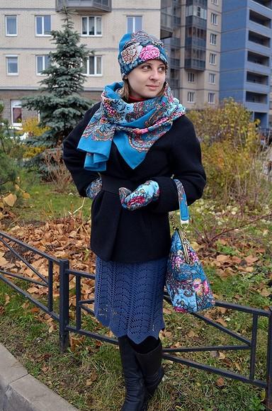 Шьем сумку врусском стиле