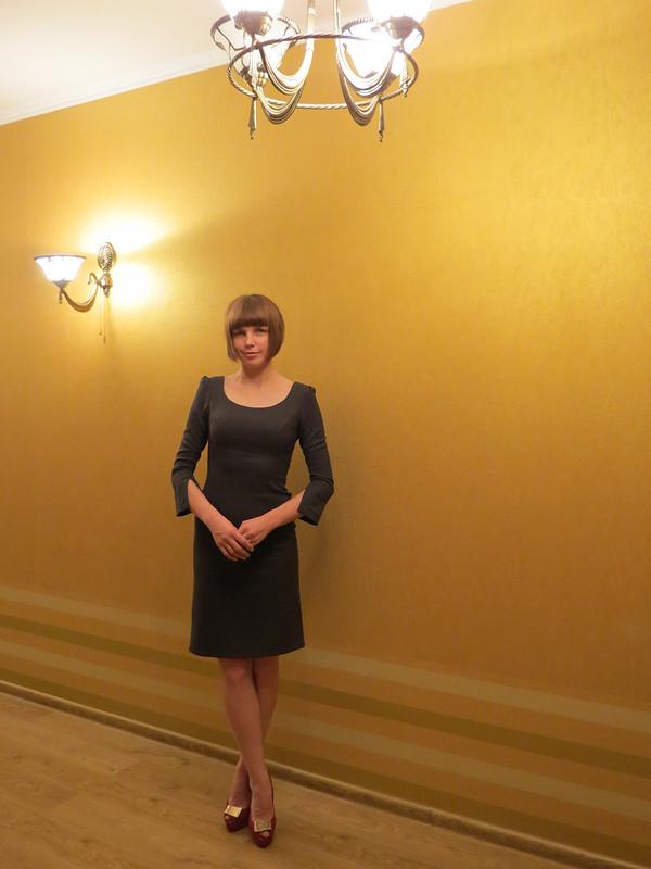 Платье себе исестренке от Снусмумрик