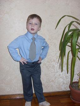 Работа с названием Рубашка для сынишки