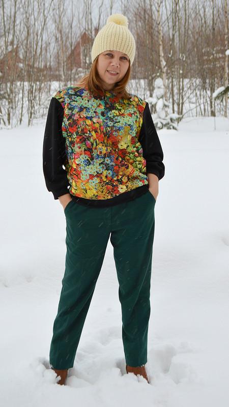 Блузон + пуловер