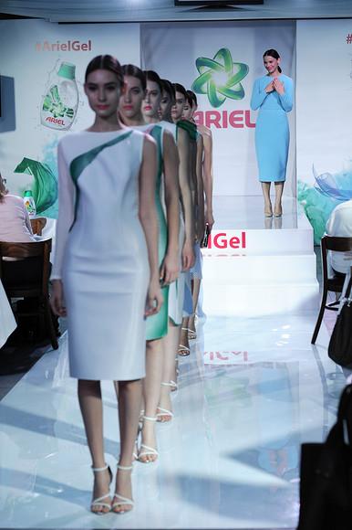 Модный показ Дарьи Бардеевой