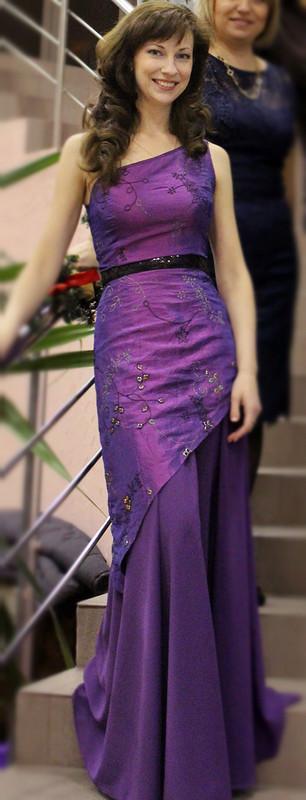 вечернее платье Фиалка