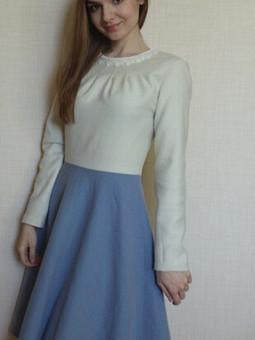 Работа с названием Зимнее платье