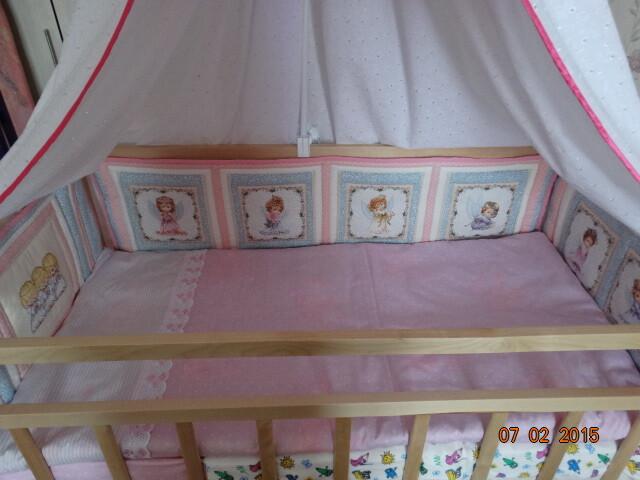 Бортики ибалдахин вдетскую кроватку от Frau Anna
