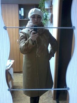 Работа с названием Пальто на тёплую зиму