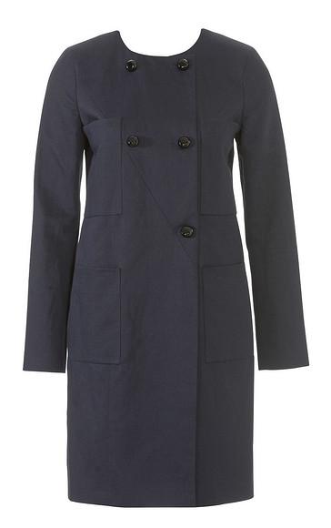 Пальто снакладными карманами
