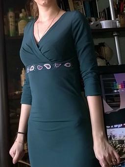 Работа с названием болотное платье