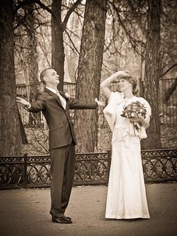 Работа с названием Свадебное винтажное