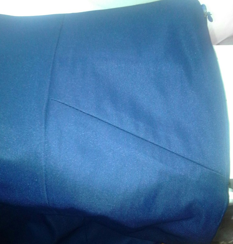 Синенькая юбочка