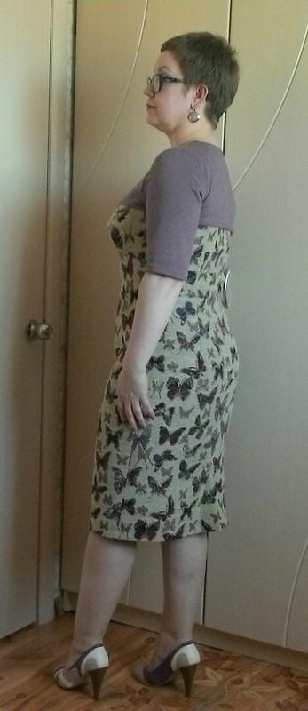 Платье изгобелена