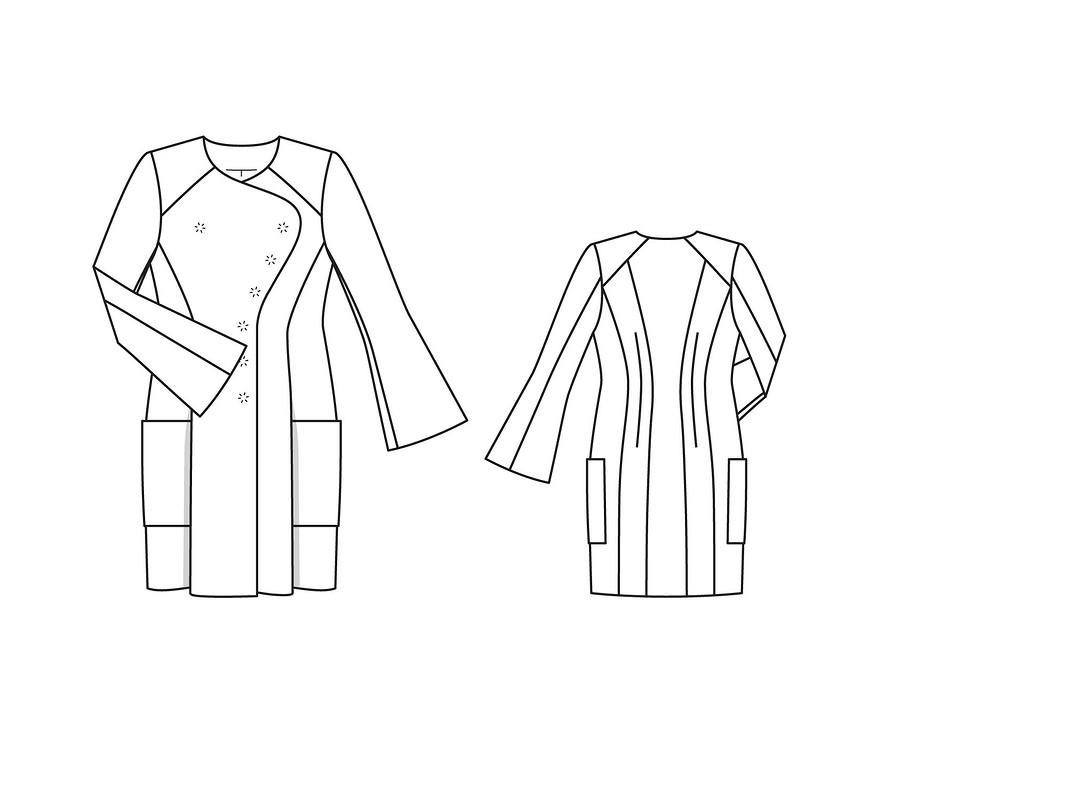 Пальто-косуха от Darnes