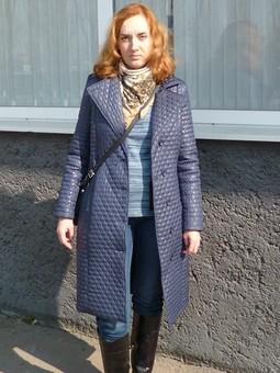 Работа с названием Плащ-пальто на прохладную весну