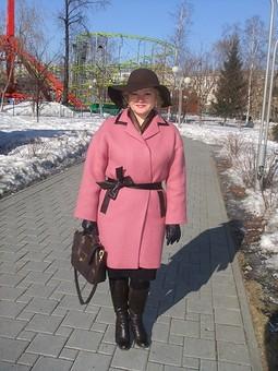 Работа с названием Пальто для весны 2015 г.