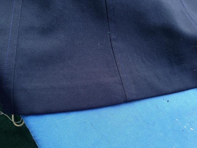 Обработка низа жакетов, пальто, юбок