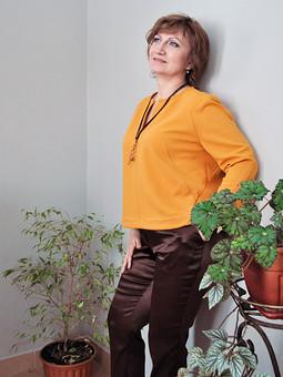 Работа с названием Модная блуза