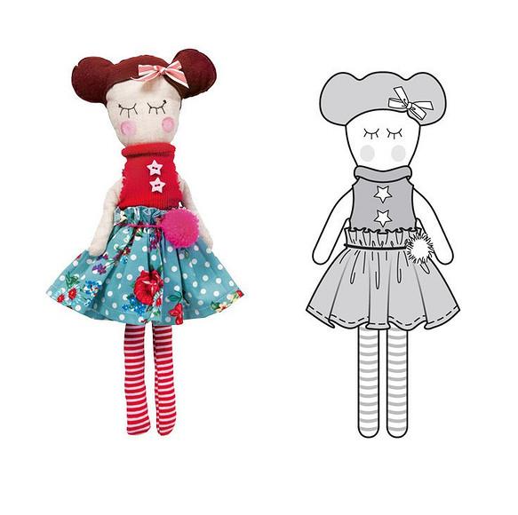 Все технические рисунки «Burda. Дети» 2015