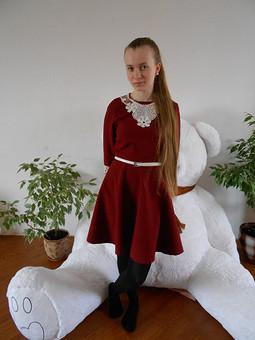 Работа с названием Платье для доченьки
