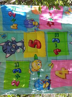 Работа с названием Детское одеяло
