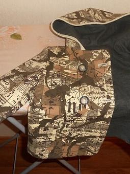 Работа с названием Куртка для крестника