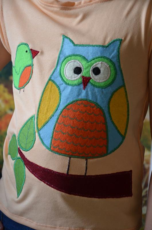 Три блузки поодной выкройке