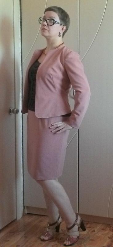 Жакет спенсер + юбка