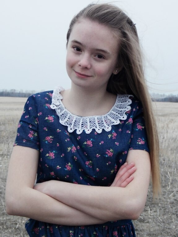 Платье дляромантичной девушки от УЛЕНА