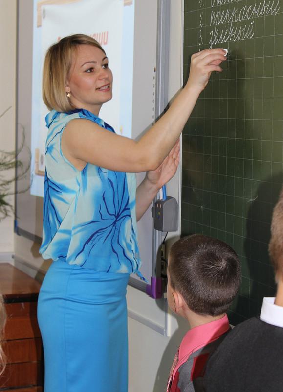 Простая блуза и«До свиданья, 1 класс!»